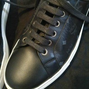 Other - Low top sneakers in MCM black